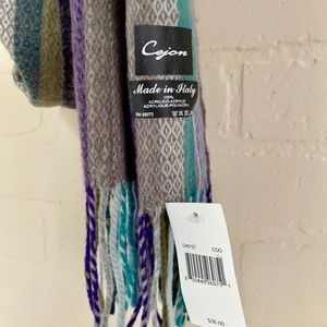 Cejon Accessories - Cejon NWT scarf 100% acrylic soft Made in Italy